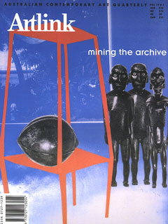 Cover of Fabricating Archives: Six New Zealand Artists confuse the system