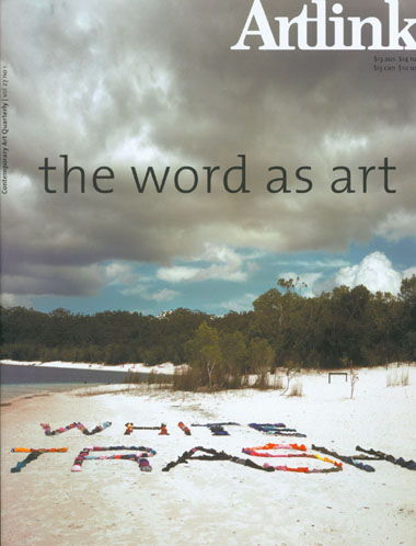 Cover of The Word As Art