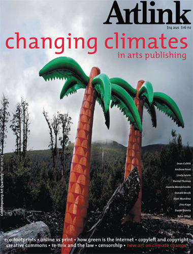 Cover of Changing Climates in Arts Publishing