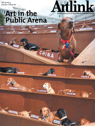 Cover of Art in the Public Arena