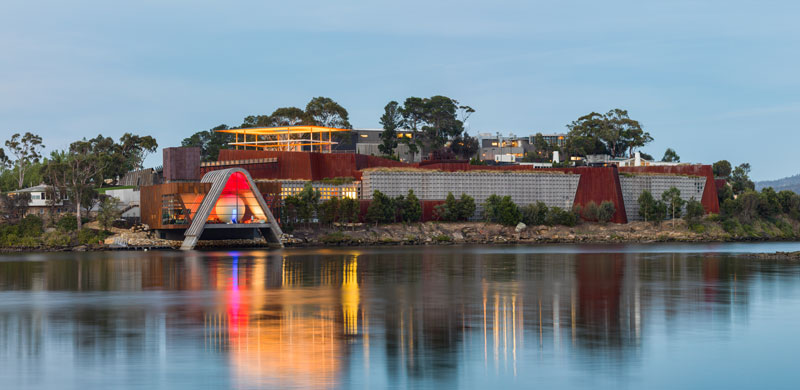 Photo courtesy Museum of Old and New Art (Mona), Hobart.